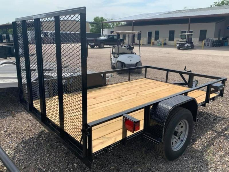 2019 Tiger 6X10 RAMP GATE Utility Trailer