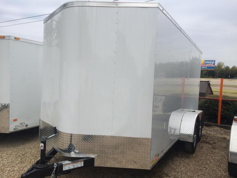 7x14 ENCLOSED TRAILER Continental Cargo 6'6