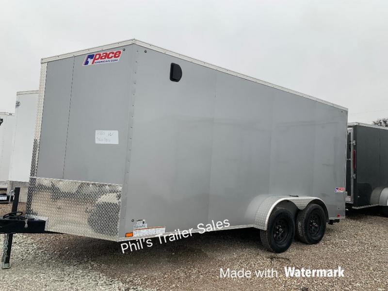 2020 Pace American 7X16 SE Enclosed Cargo Trailer