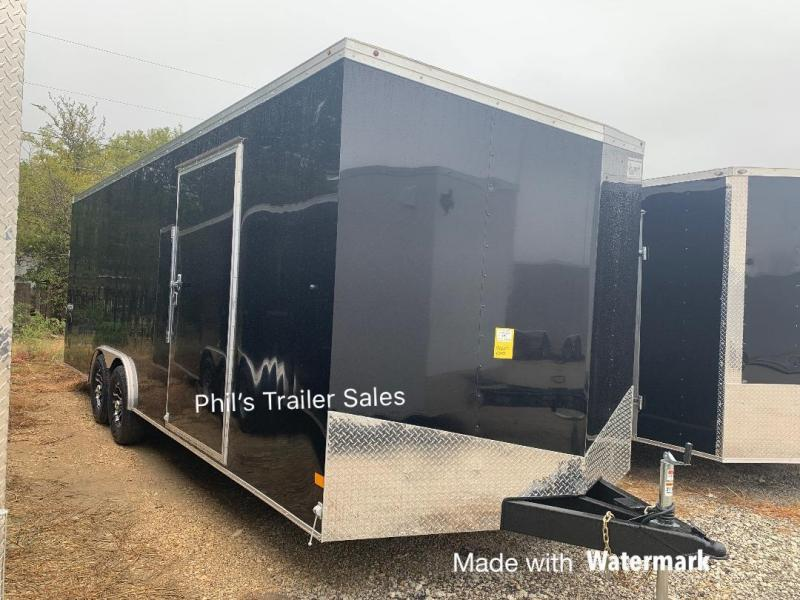 8.5x24 + slant nose Haulmark TRANSPORT Enclosed Cargo Trailer
