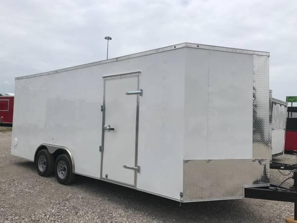 Texas Select 8.5x24 3 v nose 7 interior ht with extras