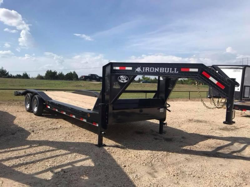 Iron Bull 102x 24 Equipment Trailer Drive over fenders