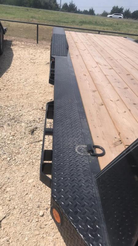 Iron Bull 102x 24 Equipment Trailer Drive over fenders