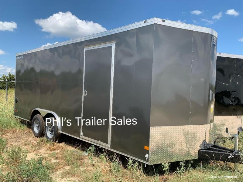 Wells Cargo 8.5X16 + V 7 FT interior COMMERCIAL GRADE ROAD FORCE Enclosed Cargo Trailer