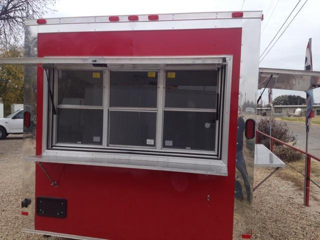 Cargo Trailer 8x16 Loaded Concession trailer enclosed trailer on