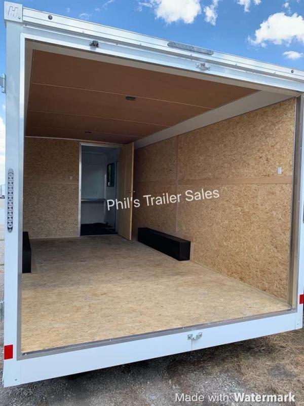 Haulmark Enclosed Trailer JOBSITE
