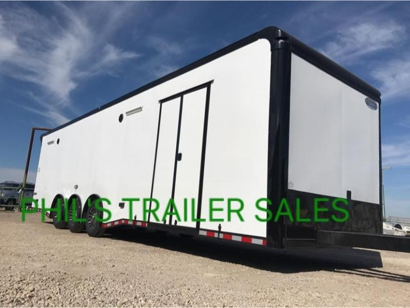 32 Continental Cargo Enclosed trailer race trailer   AUTOMASTER Car / Racing Trailer