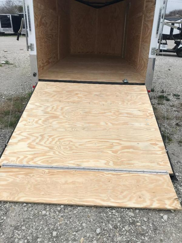 2021 Continental Cargo 6X12 CHARCOAL Enclosed Cargo Trailer
