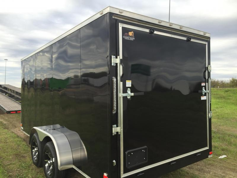 Screwless Aluminum Wheels 7x16 2 Slant Nose Cargo