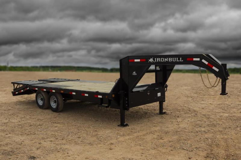 2020 Iron Bull 25 GOOSENECK Equipment Trailer