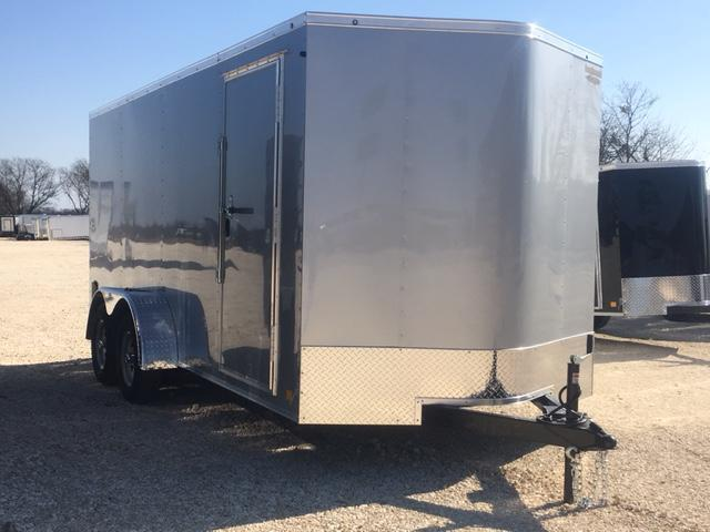 """CONTINENTAL CARGO 7X16 DELUXE PACKAGE 6'6"""" INTERIOR* RAMP"""