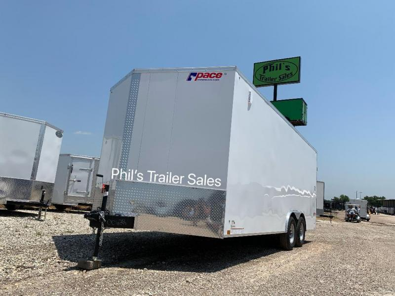 Pace American 8.5X24 7'  Slant Nose Enclosed Cargo Trailer