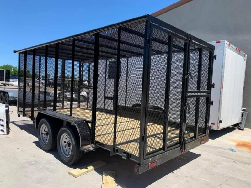 2019 Tiger 16 TRASH TRAILER Utility Trailer