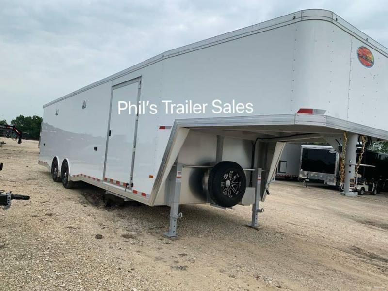 2020 Sundowner Trailers 38 ft All Aluminum Race trailer enclosed trailer Car / Racing Trailer