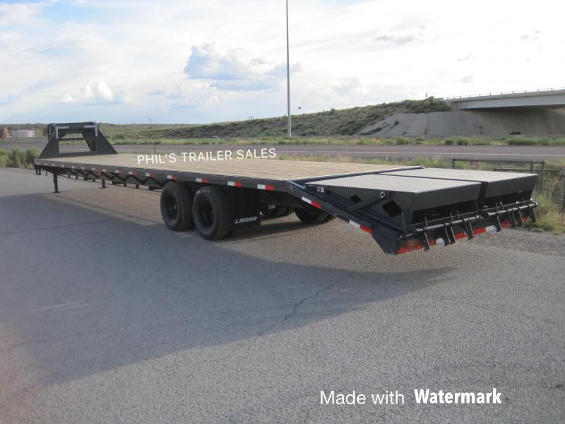 2020 40' 35+5 with Monster Ramp 24k GVWR TANDEM DUAL GOOSENECK Equipment Trailer