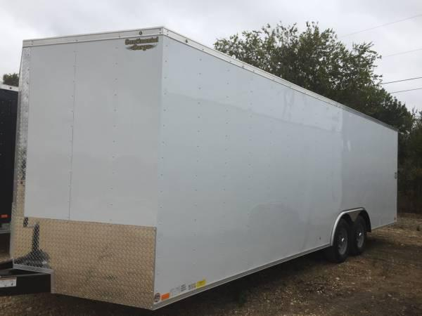 Continental cargo  8 5 x24 7 ft tall car hauler