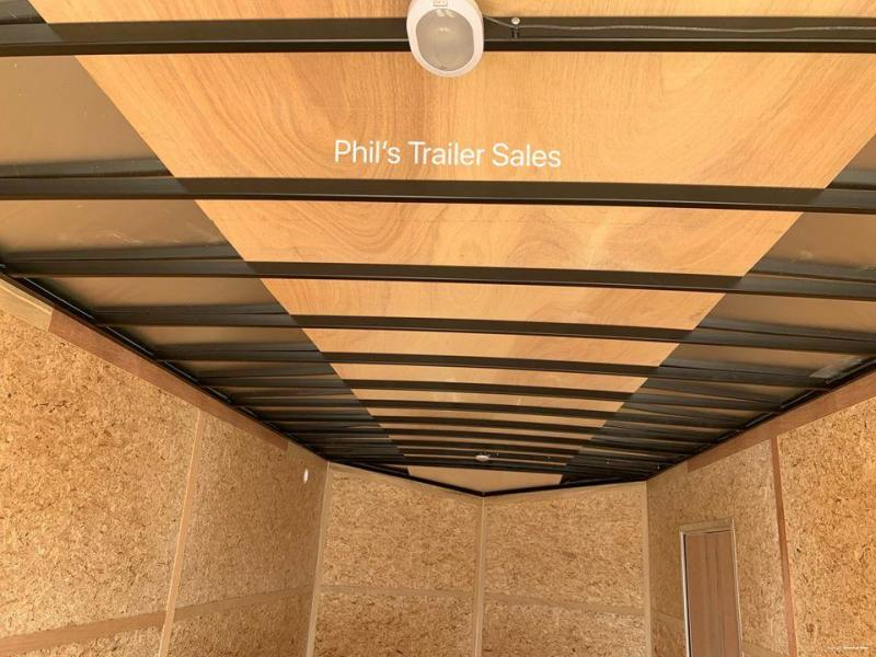 Pace American 8.5X28 7' ALUMINUM WHEELS UPGRADE  Slant Nose Enclosed Cargo Trailer