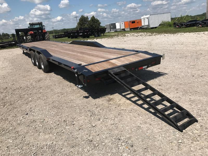 Iron Bull 102 X 44 Equipment Trailer DRIVE OVER FENDERS