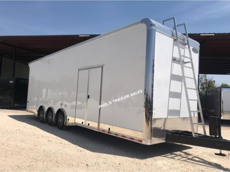 2020 Continental Cargo 32' SPRINT CAR TRAILER EXTRA HT Car / Racing Trailer