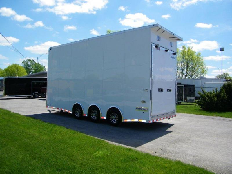 Haulmark 28 ALL ALUMINUM  ALX STACKER Car / Racing Trailer