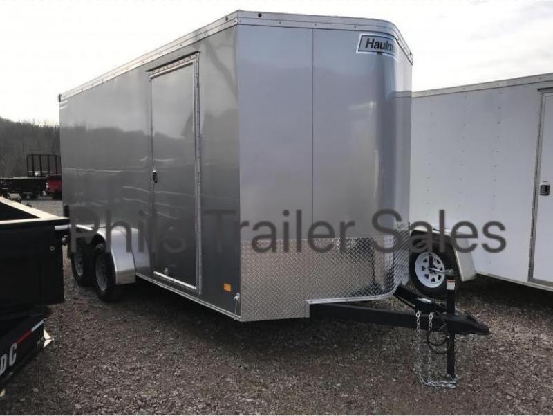 Enclosed Trailer 7x16TA Haulmark 7 FT  INTERIOR TRANSPORT Cargo / Enclosed Trailer