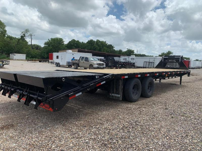 2019 Lamar Trailers 32 TANDEM DUAL Equipment Trailer WITH RHINO RAMPS