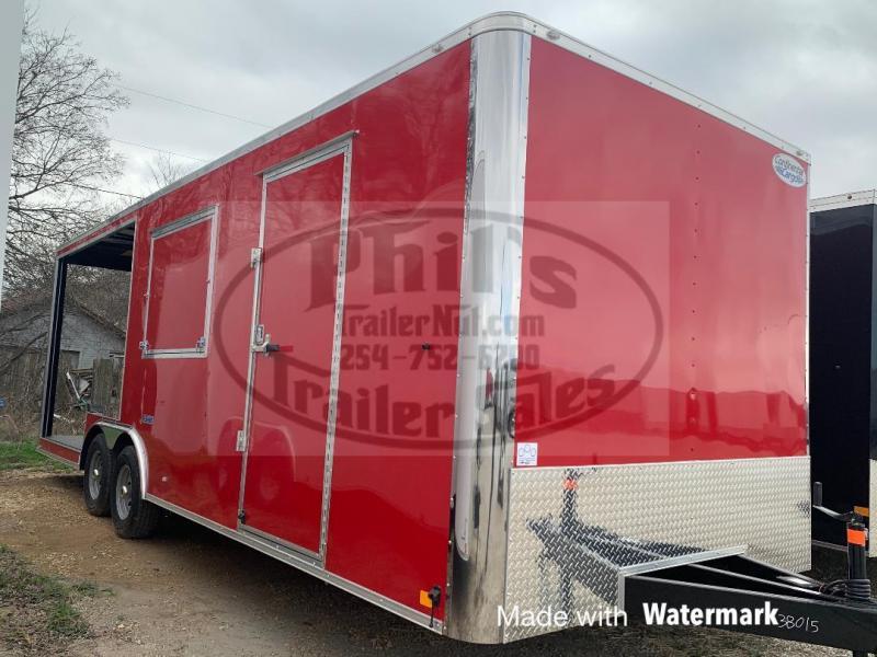 8.5x24 Porch trailer Vending / Concession Trailer