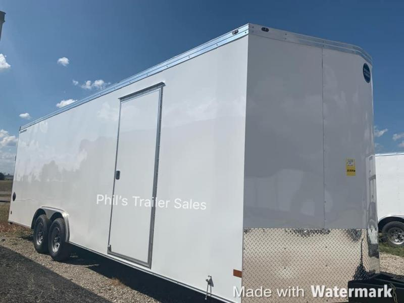 24'  Wells Cargo ROAD FORCE 7 FT  WITH ESCAPE DOOR Enclosed Cargo Trailer