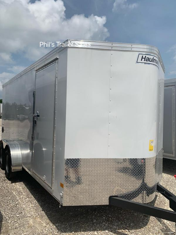 HAULMARK  7X16 + V 7 FT UTV PACKAGE interior COMMERCIAL GRADE ROAD FORCE Enclosed Cargo Trailer