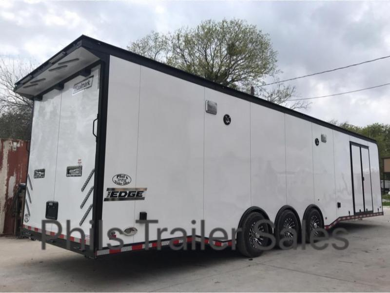 34' Haulmark EDGE Car / Racing Trailer LOADED