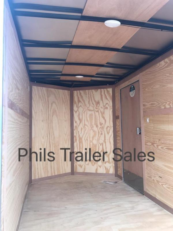 2021 Continental Cargo 6X12 PEWTER Enclosed Cargo Trailer