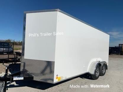 2021 Forest River STEEL MOD 5200 LB AXLES Enclosed Cargo Trailer