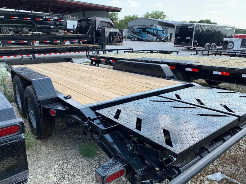 20 Norstar HEAVY DUTY Equipment Trailer POWDER COATED RHINO RAMPS