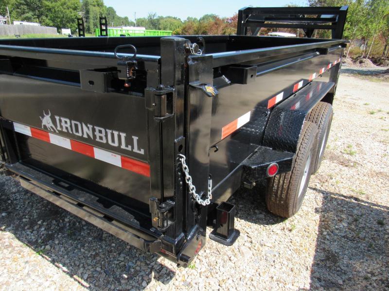 "2019 Iron Bull 83"" x 16' Gooseneck Low Pro Dump Trailer"