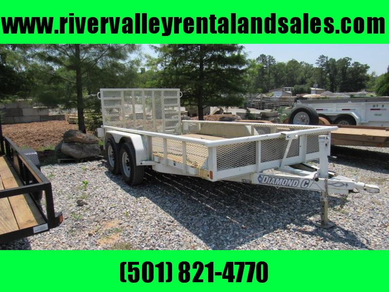 14' Diamond C Equipment Trailer - FOR RENT