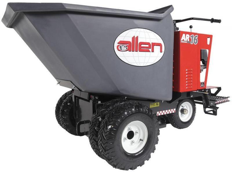 Allen Wheelbarrow Concrete Buggy on Tracks