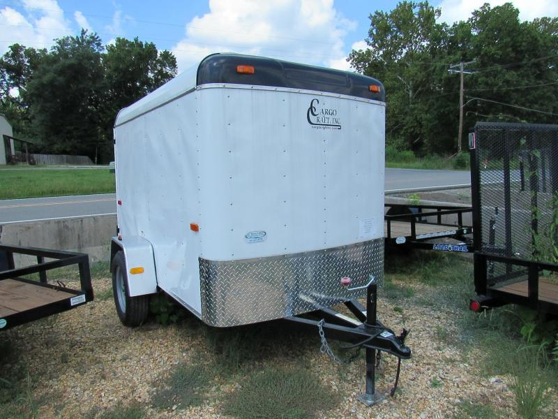 2017 Cargo Craft 5'x8' Enclosed Cargo Trailer