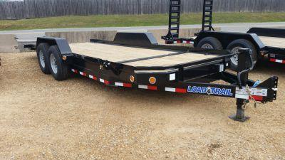 2017 Load Trail 83 x 20 Tandem Axle Low Pro Tilt Deck Trailer
