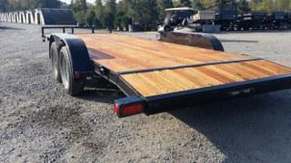 "2017 Load Trail 83"" x 20' Tandem Axle w/3""x5"" Angle Frame Car / Racing Trailer"