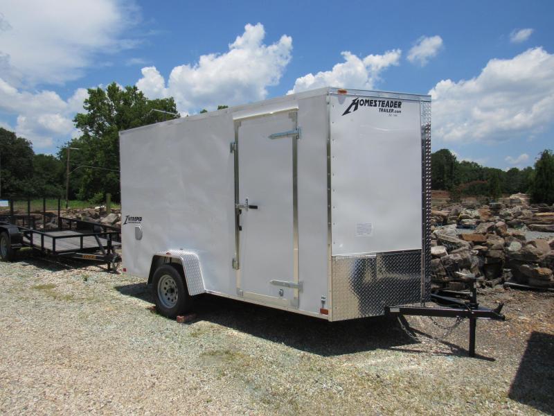 2019 Homesteader 6' x 12' Enclosed Cargo Trailer