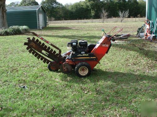 Ditchwitch 1030 Trencher - Walk Behind