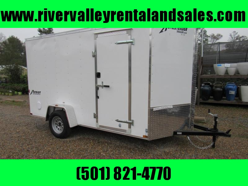 2017 6'x 12' Homesteader Enclosed Cargo Trailer - FOR RENT
