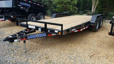 2017 Load Trail 83 x 18 Tandem Axle Carhauler Trailer