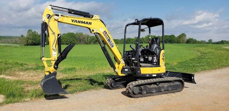 2019 Yanmar ViO35 Mini Excavator Tractor