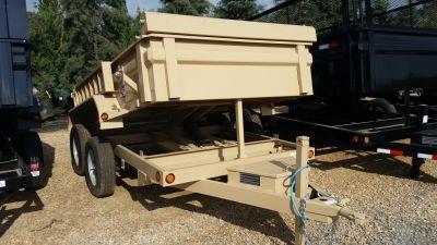 """2017 Load Trail 72"""" x 10' Tandem Axle Dump Trailer"""