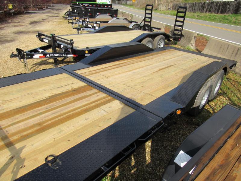 """2019 Iron Bull ET2 102"""" x 22' Tilt Lo-Pro Utility Equipment Trailer"""