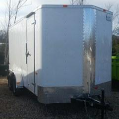 2017 Cargo Craft 7'x16' Enclosed Cargo Trailer - FOR RENT