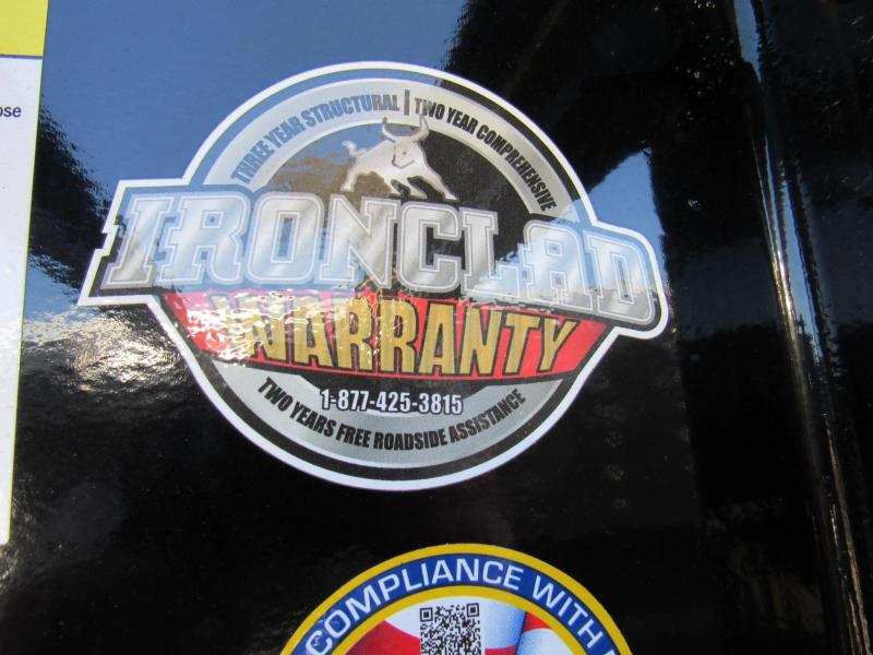 "2020 Iron Bull 83"" x 16 Gooseneck Low Pro Dump Trailer"