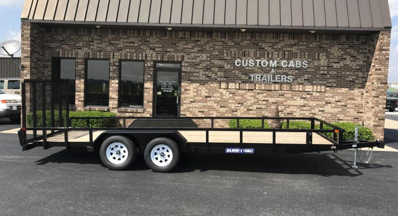 2020 Sure-Trac 7' X 20'  10K  Tube Top Flatbed