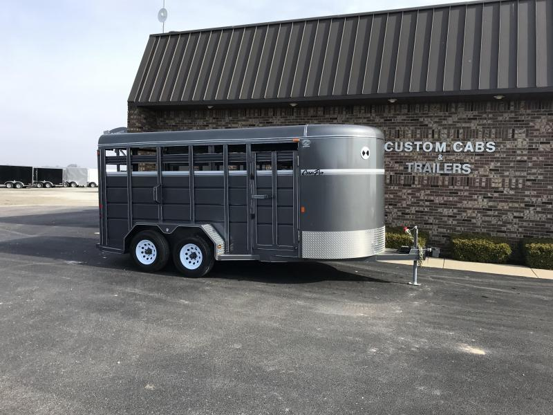 2020 CornPro SB-16 7S Livestock Trailer